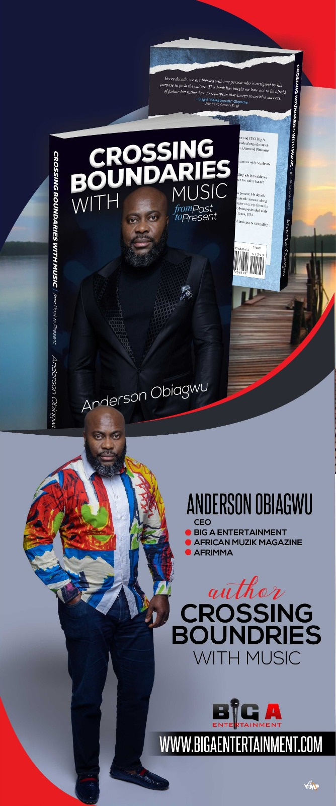 Anderson Obiagwu, Big A Entertainment, Crossing Boundaries With Music, From Past to Present,