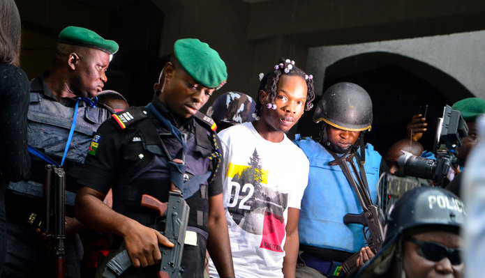 Naira Marley appears before high court