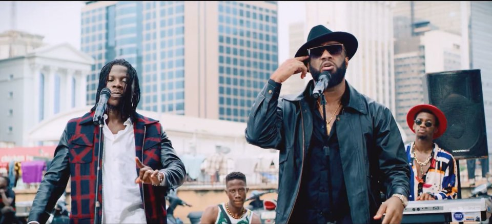 VIDEO: Praiz ft. Stonebwoy - Hustle
