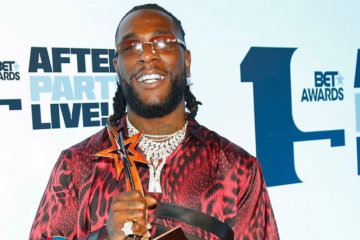 Burna Boy Crowned 'Best International Act' at BET Awards 2019