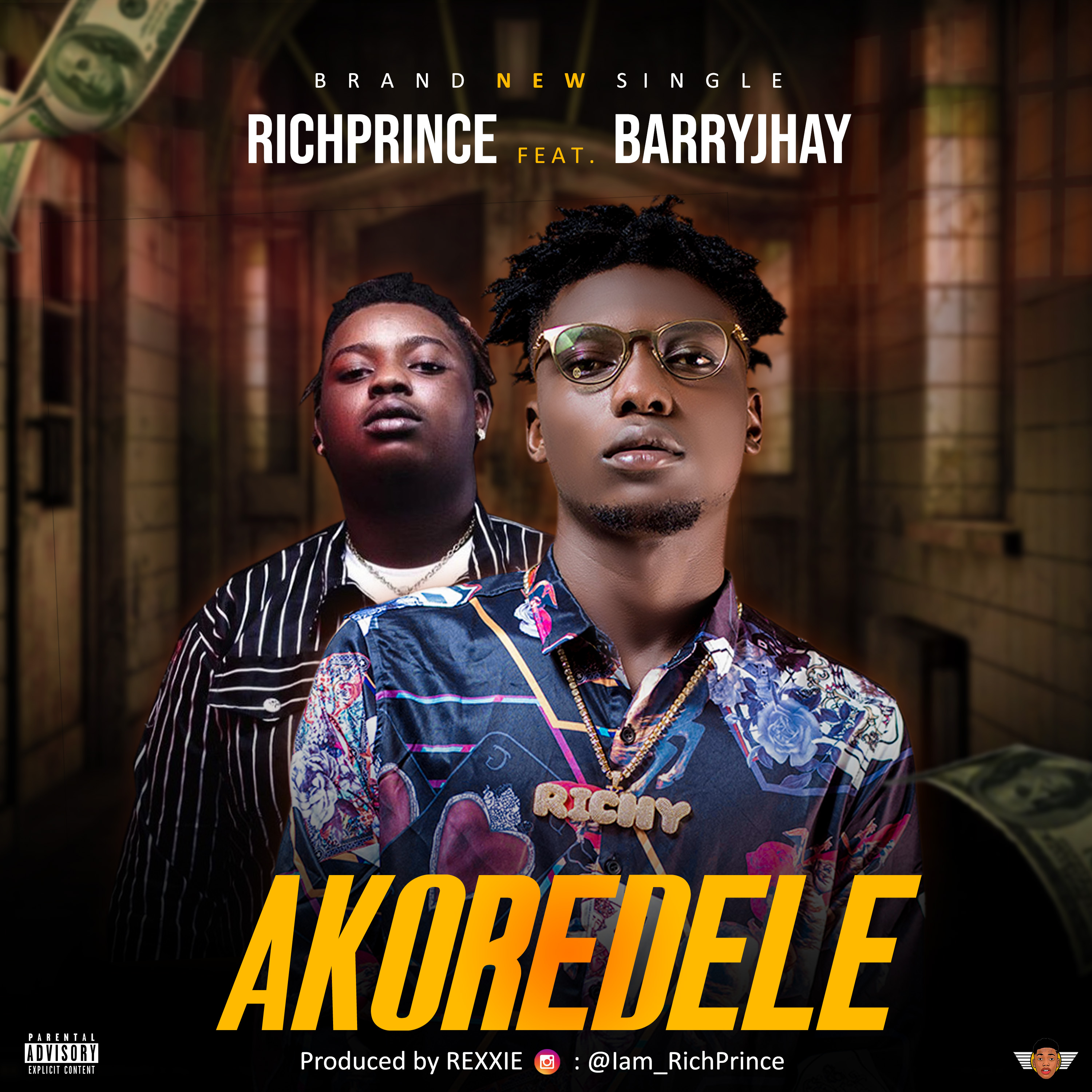 RichPrince ft. Barry Jhay – Akoredele (Prod. by Rexxie)