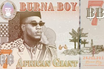 Burna Boy Releases African Giant Album Tracklist | Pre-Order!