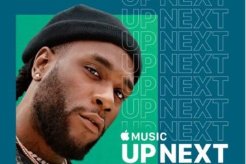 Burna Boy Up Next Apple Music