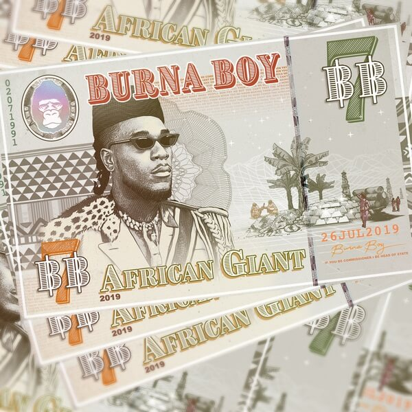 Burna Boy   'African Giant' Album | Download « NotJustOk