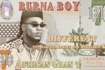 Burna Boy - Different ft. Damian Marley & Angelique Kidjo