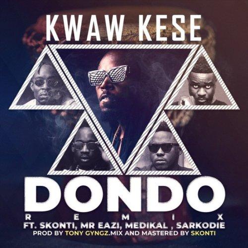 Kwaw Kese ft. Mr Eazi, Skonti, Sarkodie & Medikal – Dondo (Remix)