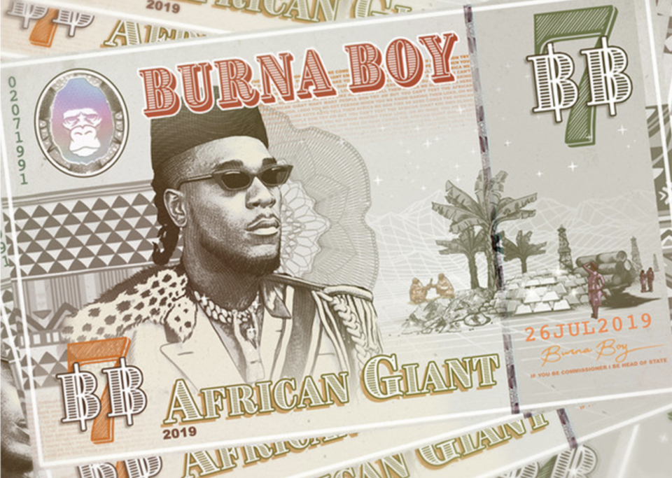 Burna Boy - 'African Giant' Album