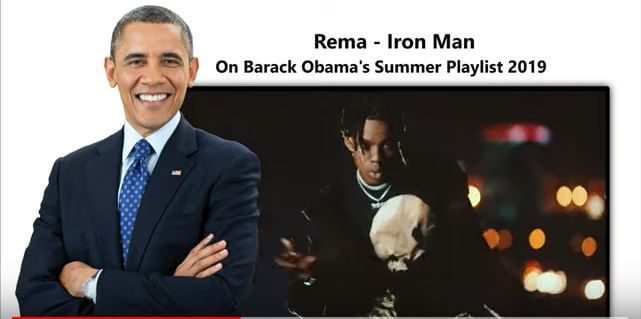 Obama Rema Summer Playlist