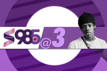 Soundcity 98.5 at 3 Live Sessions with Rema, Fireboy DML, YCEE and Seyi Shay