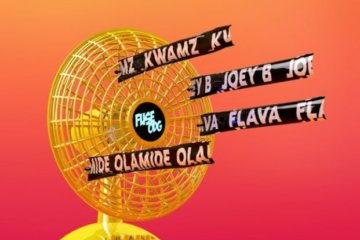 Fuse ODG - Cool Down ft. Olamide, Joey B, Kwamz & Flava