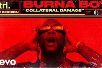 VIDEO: Burna Boy - Collateral Damage (Live Session)