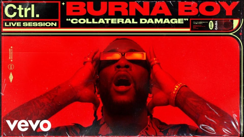 VIDEO: Burna Boy – Collateral Damage (Live Session)
