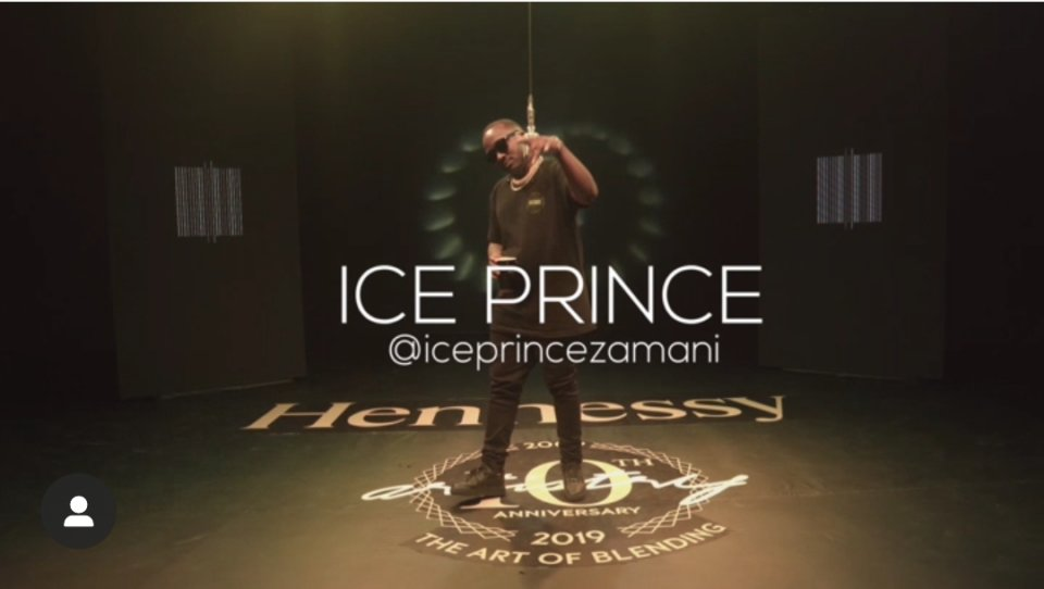 Ice Prince Hennessy Artistry Cypher