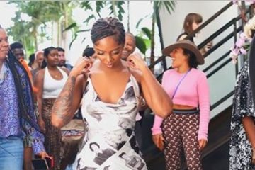 Tiwa Savage New York Fashion Week NYFW19
