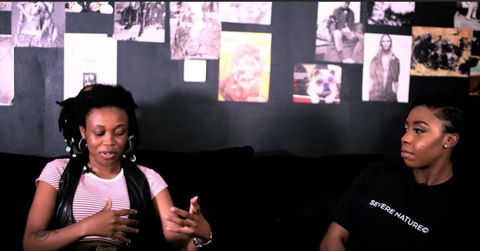 Moni Talks interviewing Lady Donli