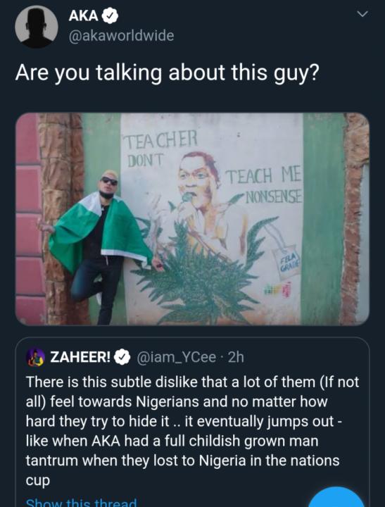 Aka Worldwide Xenophobia