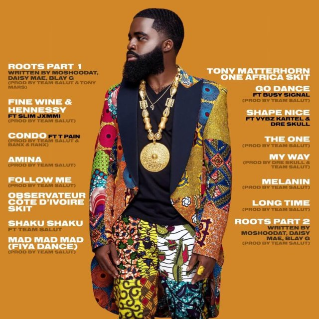 "Afro B - ""Afrowave 3"" Tracklist"