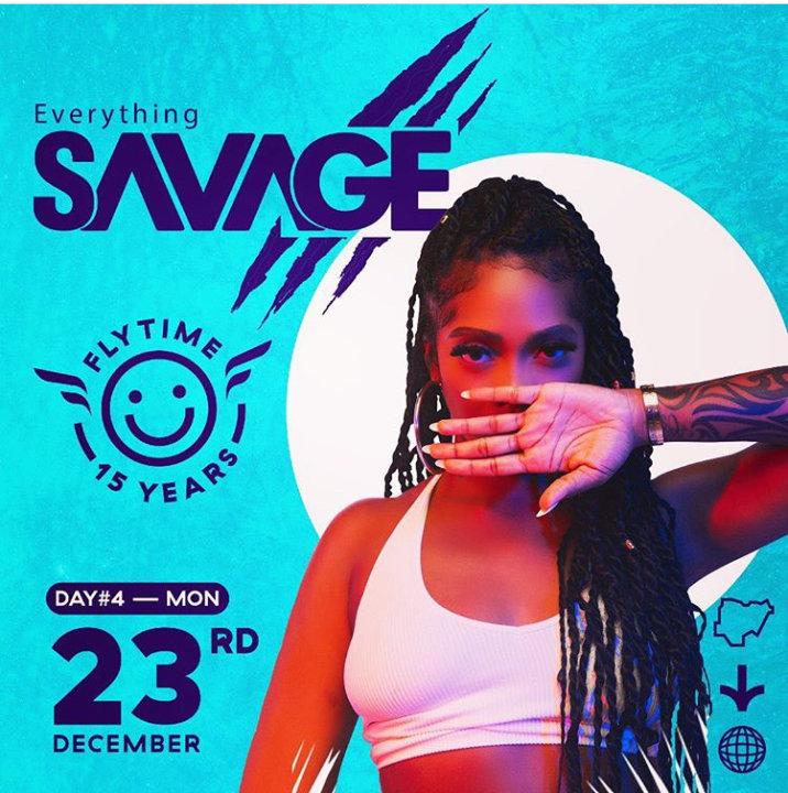Flytime Music Festival Tiwa Savage