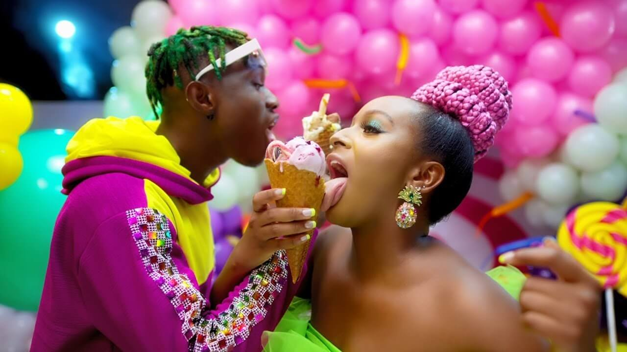 VIDEO: DJ Cuppy ft. Zlatan - Gelato