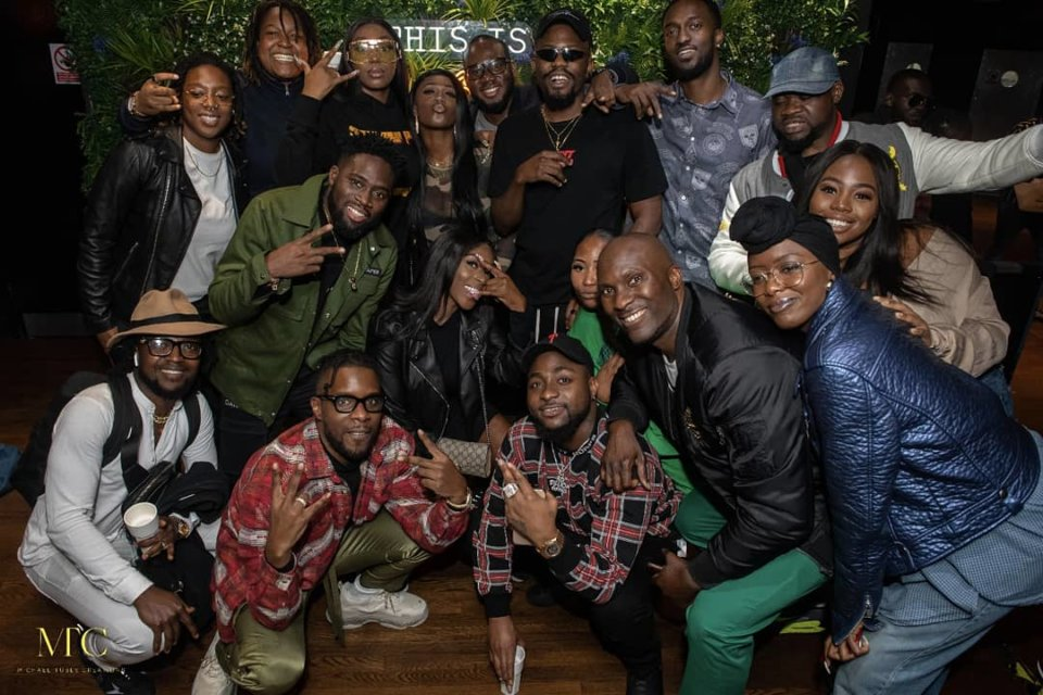 Guests at the Album listening Party of Ycee Vs Zaheer