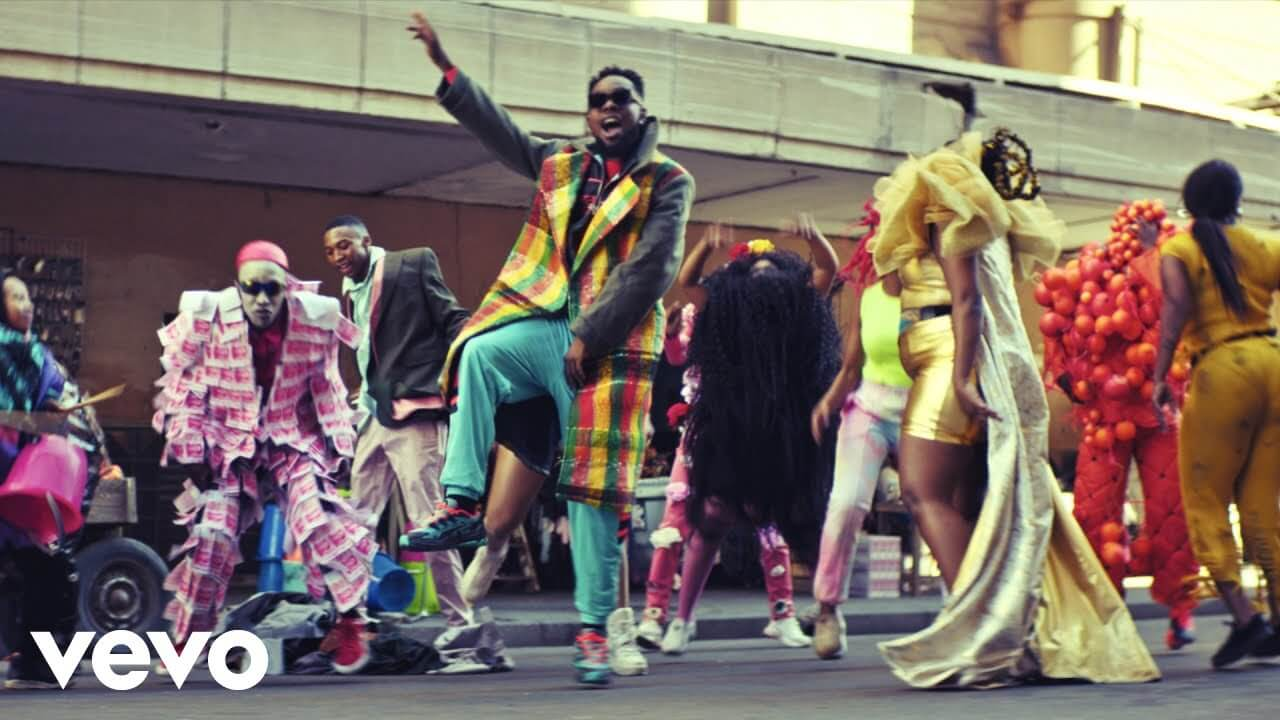 VIDEO: Patoranking - Open Fire ft. Busiswa