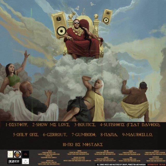 Peruzzi Huncho Vibez Album Tracklist