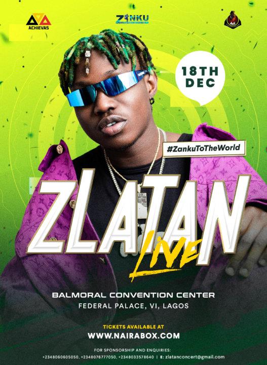 Zlatan Live December 2019 -  #Zankutotheworld