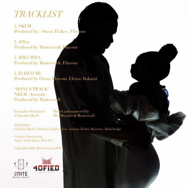 Chidinma & Flavour - 40 Yrs (Everlasting) Tracklist