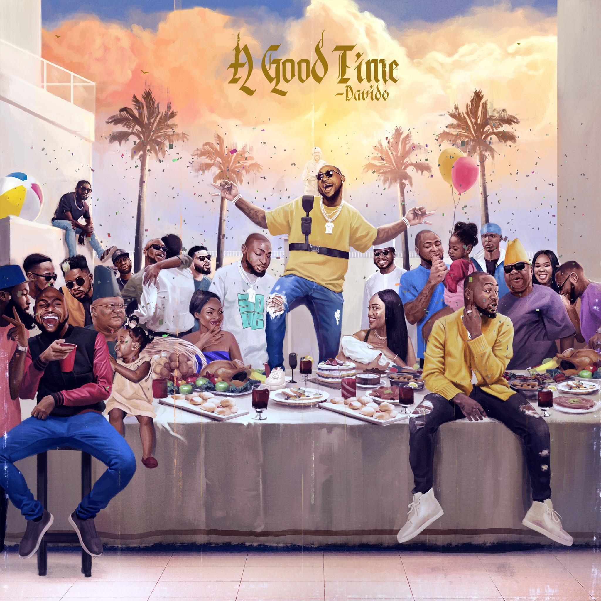 """A Good Time"" Album Cover"