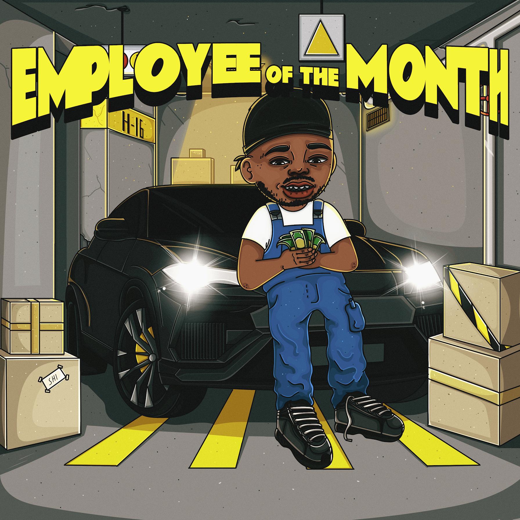 theblackboyjohn - Employee of the Month (EP)