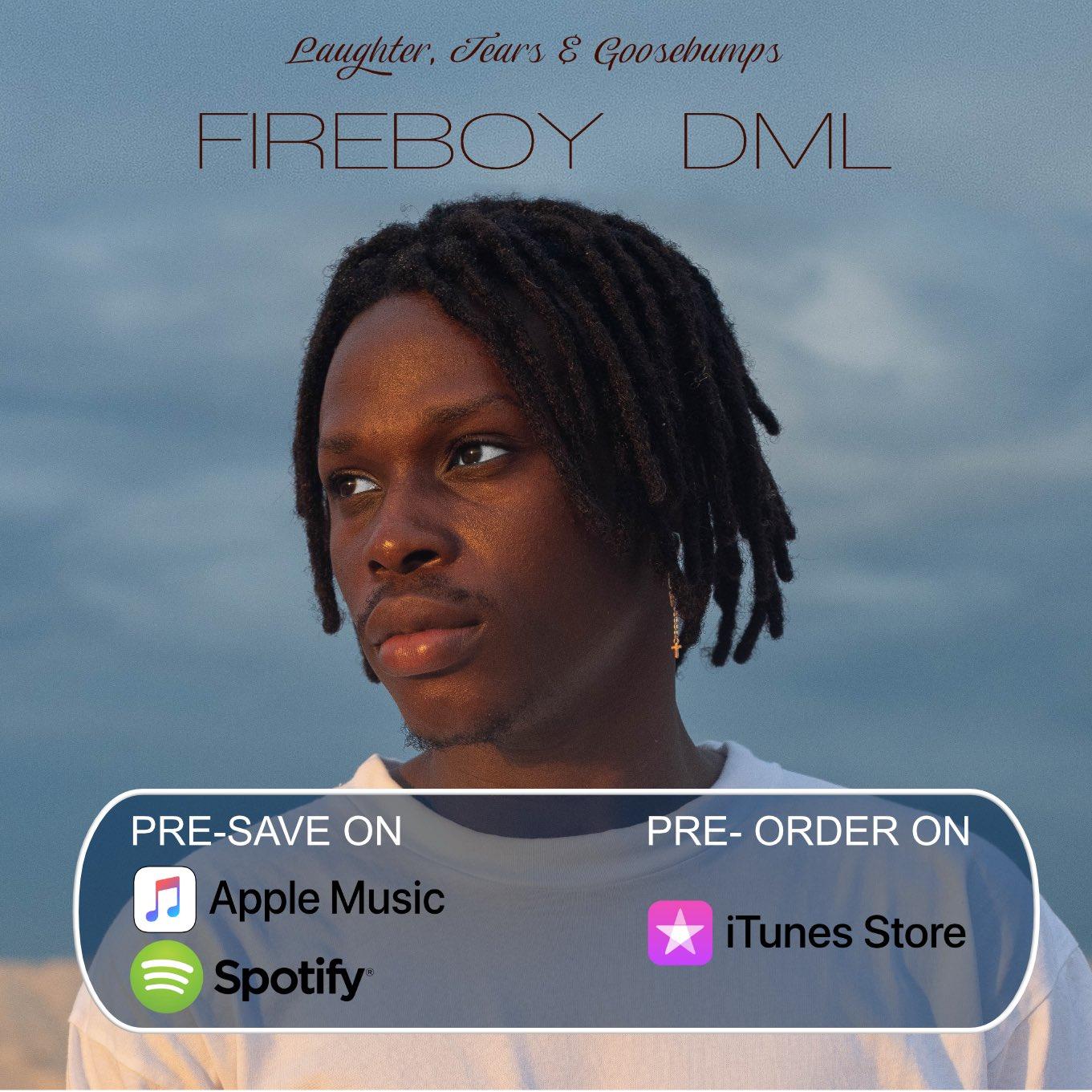 """Fireboy DML announces debut album """"Laughter, Tears & Goosebumps"""""""