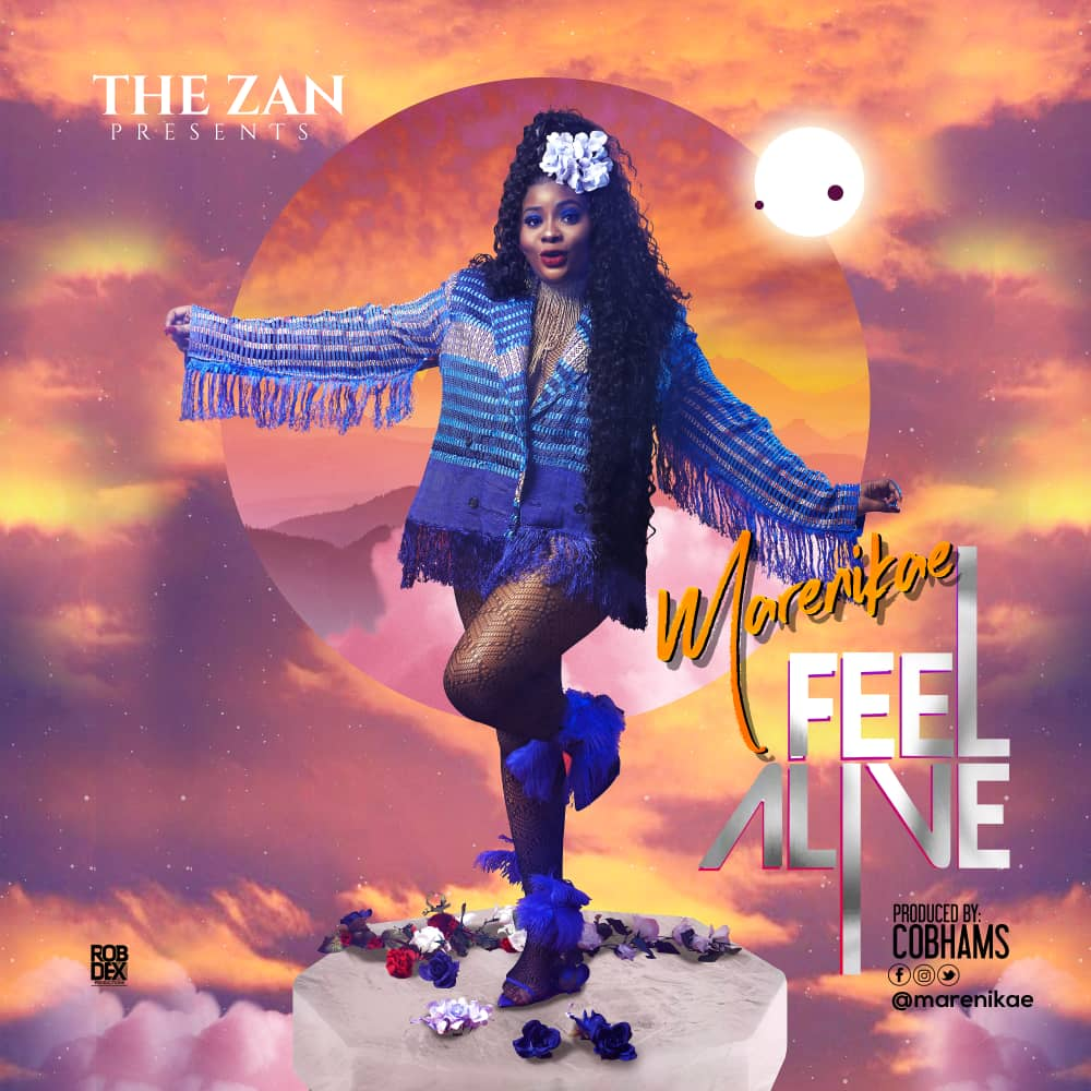 Marenikae – Feel Alive (Prod. by Cobhams)