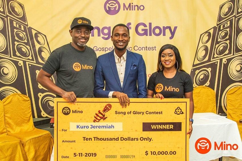 Mino Music Rewards Winners Of 'Song Of Glory' Contest