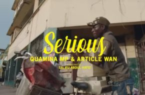 VIDEO: Fuse ODG ft. Article Wan & Quamina MP - Serious