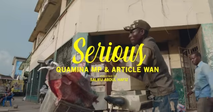 VIDEO: Fuse ODG ft. Quamina MP & Article Wan – Serious