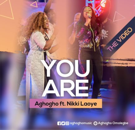 VIDEO: Aghogho ft. Nikki Laoye - You Are (Live)