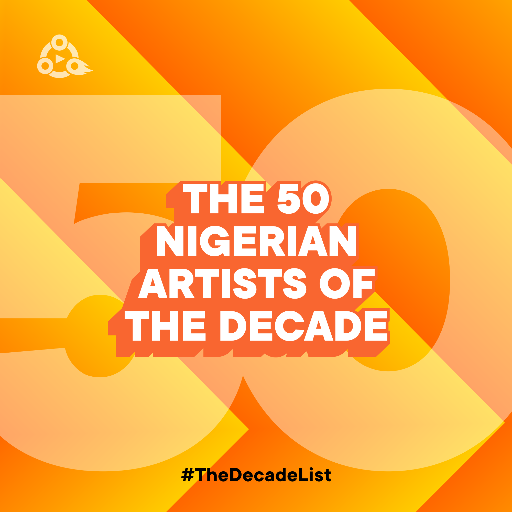 The 50 Nigerian Artists Of The Decade (2010 – 2019) | #TheDecadeList