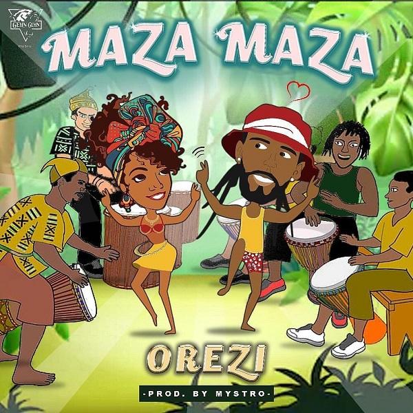 Orezi - Maza Maza (Prod. by Mystro)