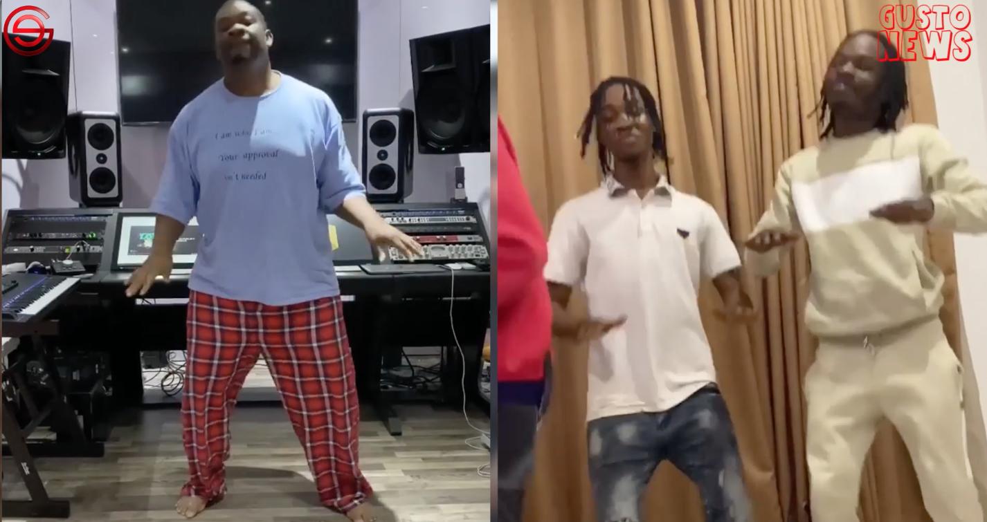 "Don Jazzy Joins Naira Marley on ""Tesumole"" Dance Challenge"