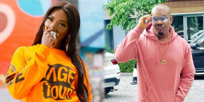 Watch The Moment Don Jazzy Avoided Tiwa Savage's Twerking On Stage