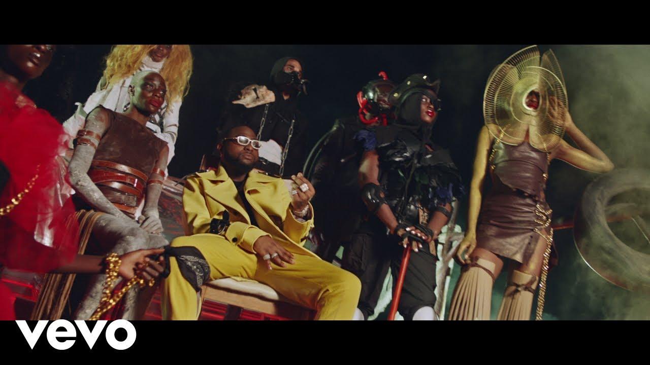 VIDEO: Davido ft. Naira Marley x Wurld x Zlatan - Sweet In The Middle