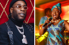 Burna Boy Angelique Kidjo
