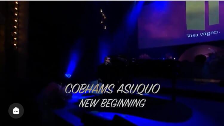VIDEO: Cobhams Asuquo - New Beginning