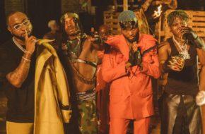 Watch Davido, Naira Marley, Wurld & Zlatan Perform 'Sweet in the Middle'