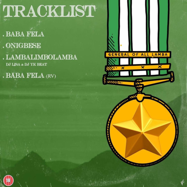"Mr Real ""General Of All Lamba"" Tracklist"
