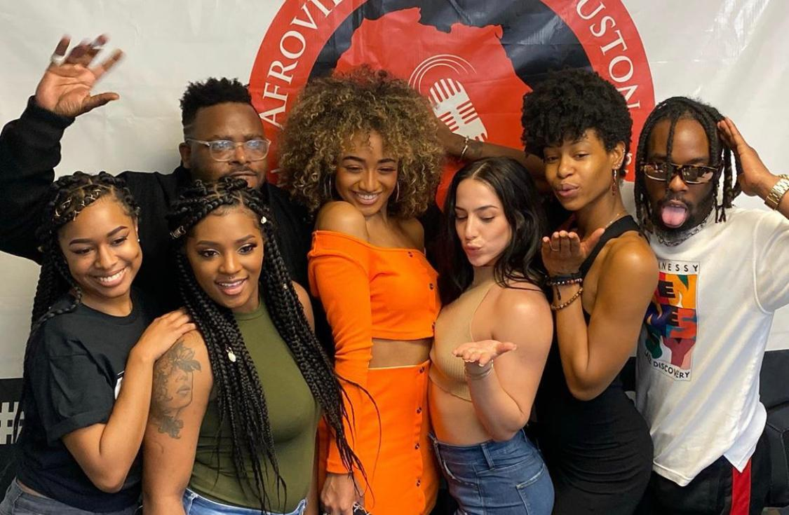 VIDEO: Interview w/ Shania on The Tea Club Show | Afrovibes Radio