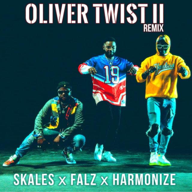 Skales - Oliver Twist II (Remix) ft. Falz & Harmonize