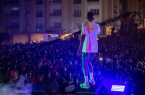 Mr Eazi Packs The House in Detty Rave 3