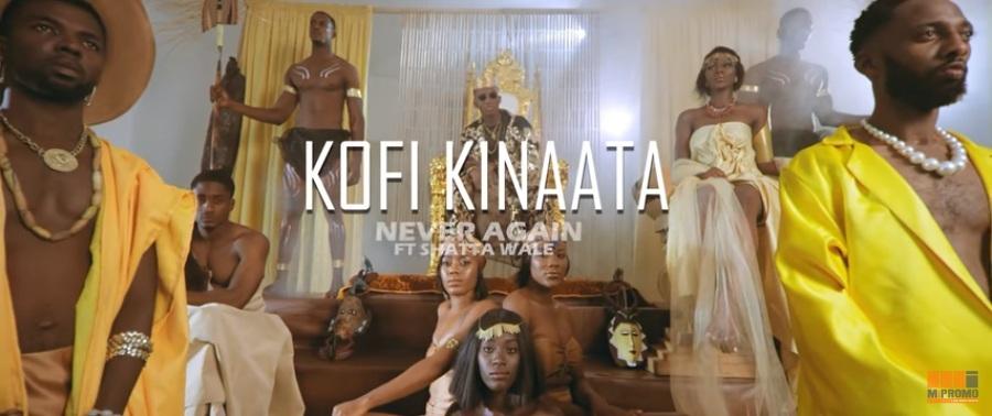 VIDEO: Kofi Kinaata ft. Shatta Wale – Never Again