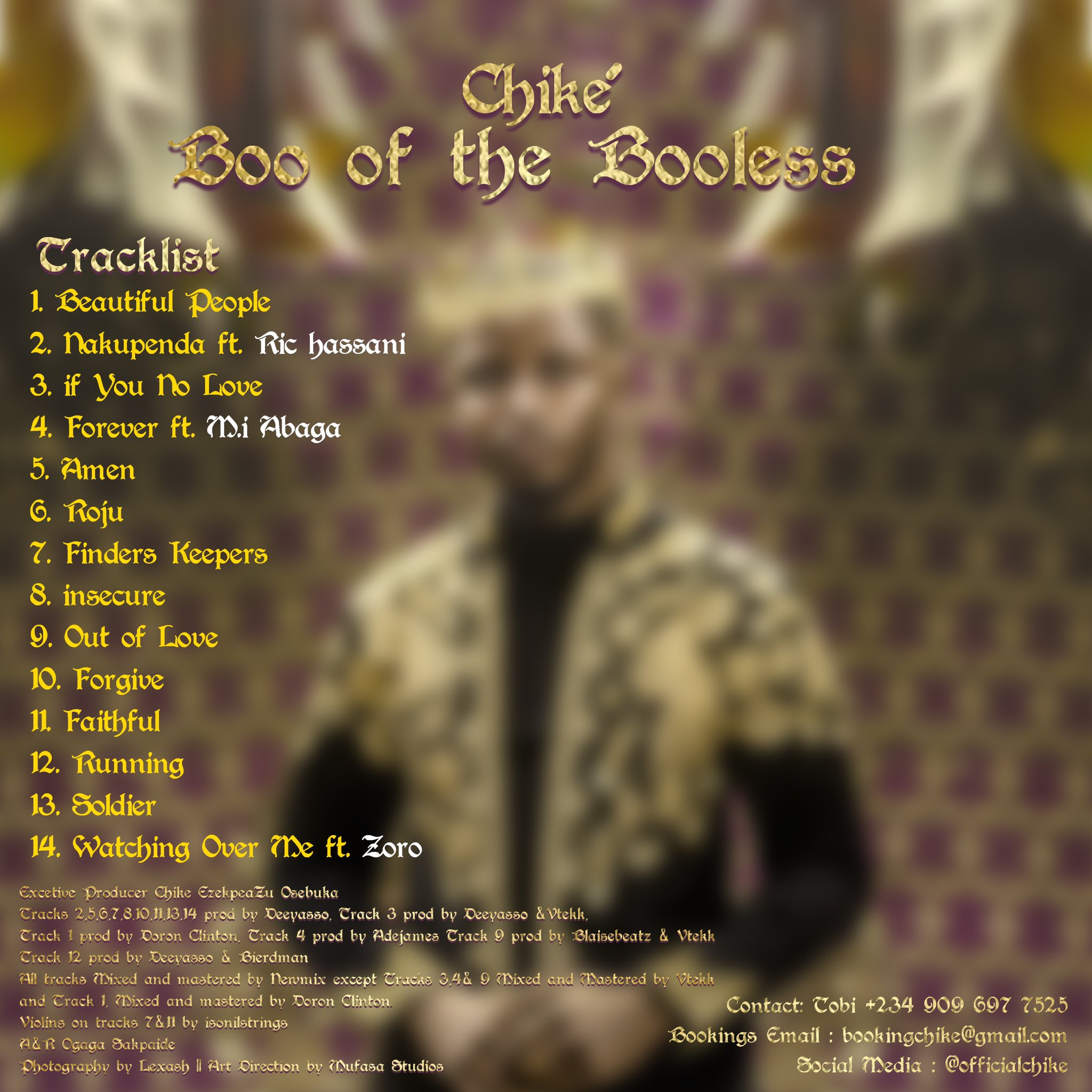 Chike's Boo of the Booless is a Mesmerizing Achievement | Album Review